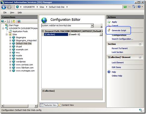 GenerateScript
