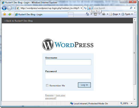 WordPressAuth