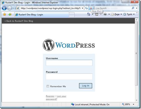 WordPressAuth