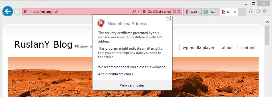 How To Setup Ip Ssl On Windows Azure Web Sites Ruslany Blog