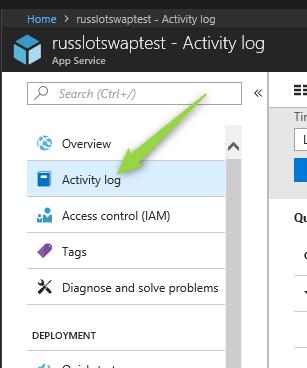 app access log
